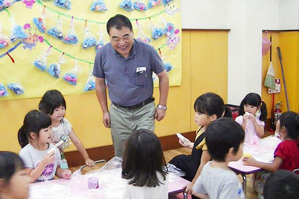 未就園児教室「こまどりちゃん」1